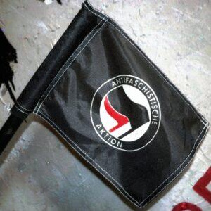 Fahne Mini Antifa