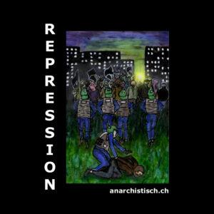 Broschüre Antirepression & Polizeigesetz Bern