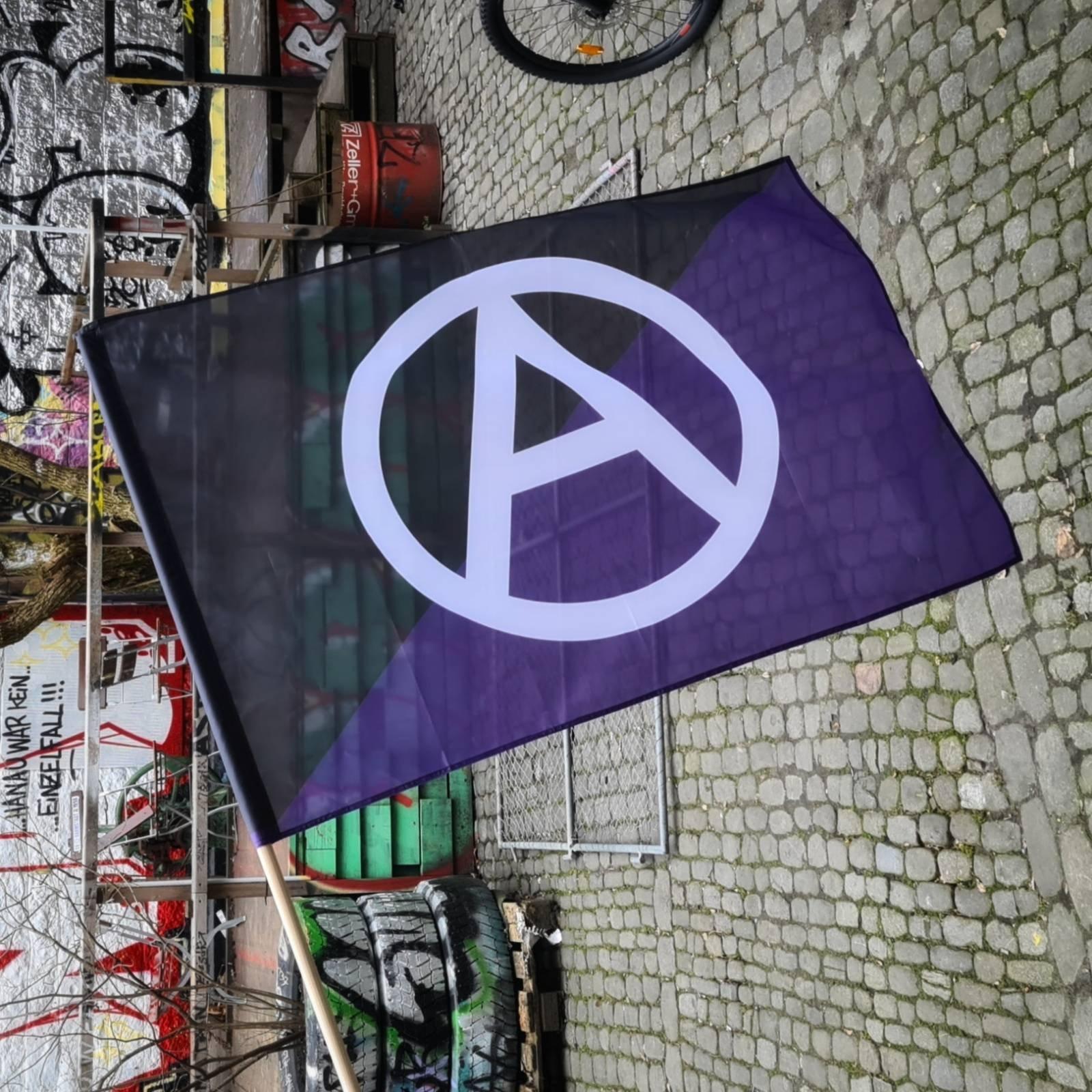 Fahne Anarchafeminismus